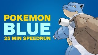Download Pokemon Blue Finished in 25 Minutes Video