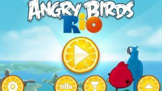 Download NEW Angry Birds RiO: iPhone/iPod Touch App Review Video