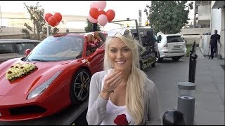Download Insane Valentine's Surprise - a Ferrari with 1000 Roses!! Video