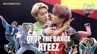 Download [DROP THE DANCE] #ATEEZ(에이티즈)   HIT THE WOAH/BOY WITH LUV/Señorita/WAVE etc. @KCON19LA Video