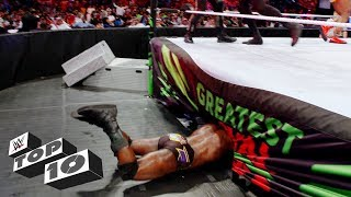 Download Epic Superstar fails: WWE Top 10, May 7, 2018 Video