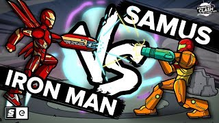 Download Samus vs Iron Man: Animated Clash of Characters Video