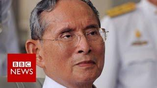 Download Thailand's King Bhumibol dies at 88 - BBC News Video