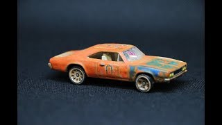 Download Mailbox Finds : Hot Wheels Weathered General Lee Dukes of Hazzard Video
