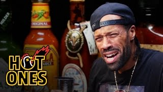 Download Redman Wilds Out Eating Spicy Wings | Hot Ones Video