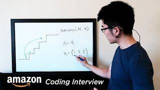 Download Amazon Coding Interview Question - Recursive Staircase Problem Video