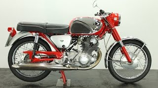 Download Honda CB72 1963 250cc - start up Video