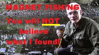 Download YOU WILL NOT BELIEVE WHAT I FOUND! I went river magnet fishing and got the surprise of my life. Video