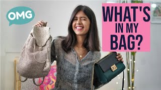 Download What's In My Bag + GIVEAWAY   Sejal Kumar Video