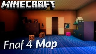 Download FIVE NIGHTS AT FREDDY'S 4 MINECRAFT MAP DOWNLOAD (Fnaf 4 Map) Video