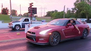 Download GTR DESTROYED BY TRUCK!! Video