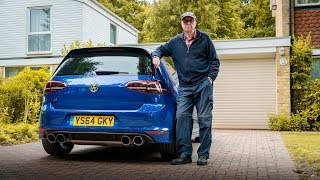 Download THIS 75 YEAR OLD BUILT A 600 BHP *VW GOLF R* Video