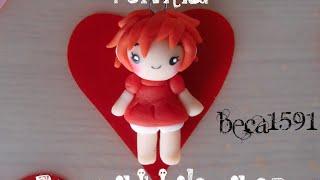 Download Ponyo Chibi Clay Charm Video