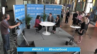 Download Live from the World Health Assembly: ″World Health +SocialGood″ of 22 May 2018 Video