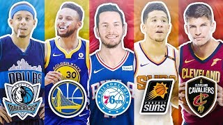 Download RANKING THE BEST 3 POINT SHOOTER FROM EACH NBA TEAM Video