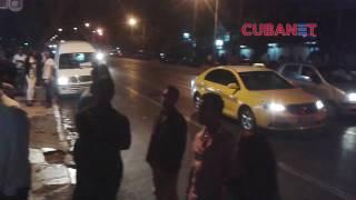 Download La Habana durante el anuncio de la muerte de Fidel Castro Video