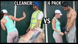 Download CLEANER vs 6 PACK Picking Up Girls (SOCIAL EXPERIMENT) PT.2 Video