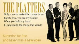 Download The Platters - Only You - Lyrics Video
