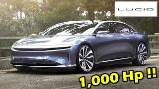 Download สุดโหด 1,000 แรงม้า ผู้มาฆ่า !!Tesla Model S มันคือ : Lucid Air 2019 Video