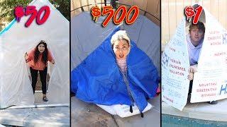 Download $1 vs $500 SURVIVAL CHALLENGE winner gets $10,000 Challenge! Video