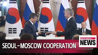 Download Seoul and Moscow sign 12 MOUs, including joint statement for FTA preparations Video