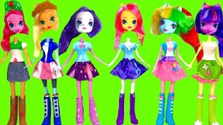 Download My Little Pony MLP Equestria Girls with Wrong Heads & Toy Surprises | Fizzy Toy Show Video