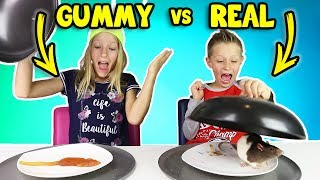 Download GUMMY vs REAL FOOD 4!!! Video