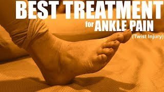 Download Best Exercises for ANKLE PAIN, SPRAIN (ligament injury) PHYSIOTHERAPY for ANKLE TWIST- FAST RECOVERY Video