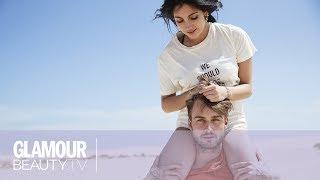 Download Backstage met Anna Nooshin & Dave Roelvink op Fuerteventura   Glamour Beauty TV Video