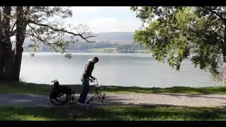 Download Walking again after spinal cord injury (2) - longer video with patients' tesimonies Video