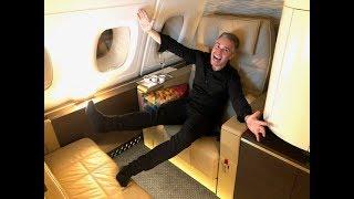 Download ETIHAD A380 FIRST CLASS THE APARTMENT Abu Dhabi-Paris Video