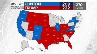 Download Trump Wins Florida, Clinton Wins Washington | 2016 Election Results Video