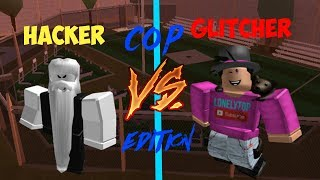 Download Hacker VS. Glitcher [Roblox Jailbreak Cop Edition] Video