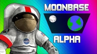 Download Moonbase Alpha Funny Moments - Text to Speech Singing Astronauts! Video