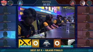 Download Grand Final MPL PH S3 Arkangel Vs Bren Esport Match 1 Mobile Legends Bang Bang Video