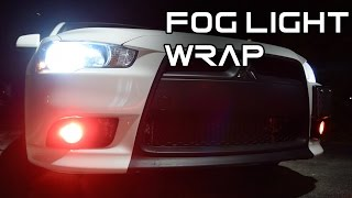 Download How to vinyl wrap your fog lights Video