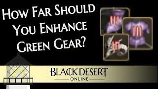 Download How Far Should you Enhance Green Gear in Black Desert? Video