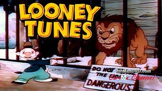 Download LOONEY TUNES (Looney Toons): A Day at the Zoo (1939) (Remastered) (HD 1080p) Video