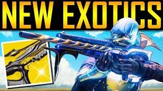 Download Destiny 2 - CRAZY NEW EXOTICS! New Exotic Quests! Video