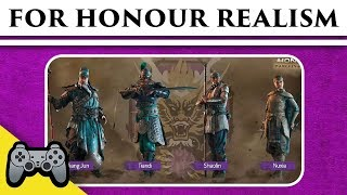 Download For Honor - Wulin Chinese Faction Historical Evaluation Video