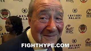 Download BOB ARUM CONFIRMS HE WANTS MIKEY GARCIA VS. LOMACHENKO; SAYS GARCIA FIGHTING SPENCE IS ″STUPID″ Video
