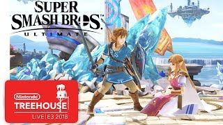 Download Super Smash Bros. Ultimate Character Gameplay Demo - Nintendo Treehouse: Live | E3 2018 Video