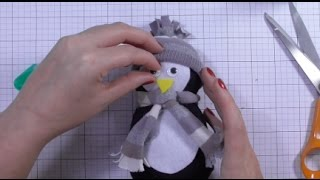 Download Day one - DIY No Sew Sock Penguin Video