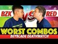 Beyblade Burst WORST COMBOS | Beyblades Tournament