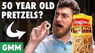 Download 50 Year Old Pretzel Taste Test Video