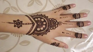 Download Simple, Cute Henna Design Video