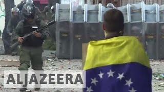 Download Two killed as Venezuela strike erupts into violence Video