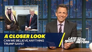 Download Can We Believe Anything Trump Says?: A Closer Look Video