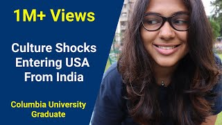 Download 5 Culture Shocks Entering USA from India   Graduate Student, Columbia University Video
