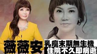 Download 薇薇安癌末入院來不及開刀 卜生死難逃天命 | 台灣蘋果日報 Video